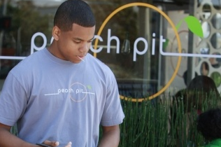 Tristan Wilds as Dixon on 90210 on The CW.