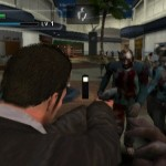 Dead Rising lets you fight zombie monsters in a horrror small town mall.