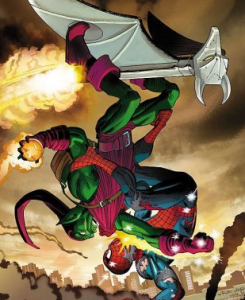The Amazing Spider-Man faces the Green Goblin