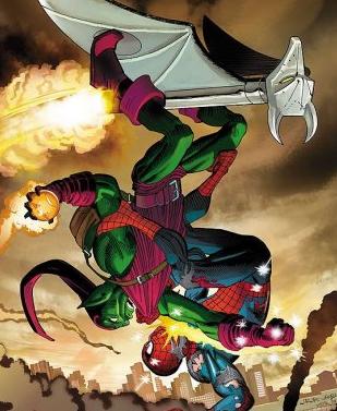 spider man vs venom vs anti venom vs green goblin oh my my