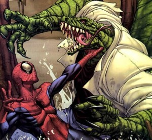 The Lizard vs Spiderman