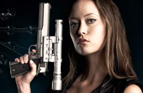 Summer Glau is a Terminator