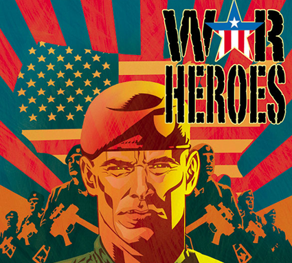 War Heroes Comic Book