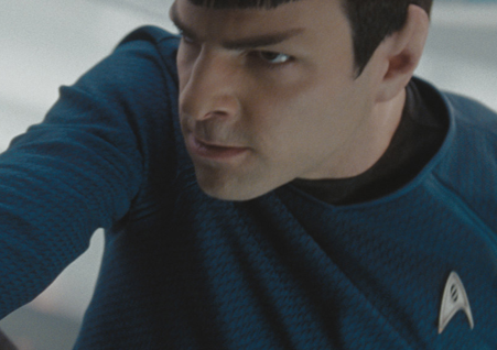 Zackary Quinto as Spock