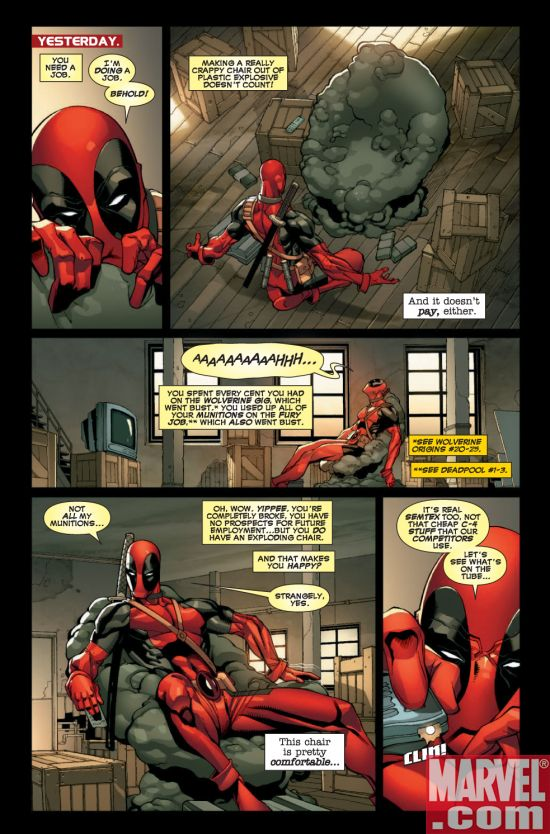 Deadpool comics online