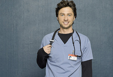 Scrubs, on ABC