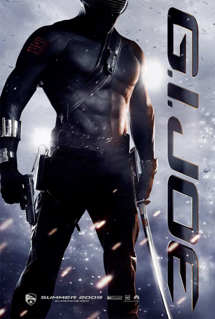 Snake Eyes GI Joe Poster