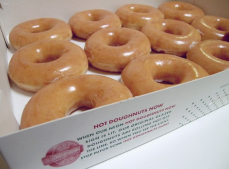 how to get krispy kreme doughnuts delivered