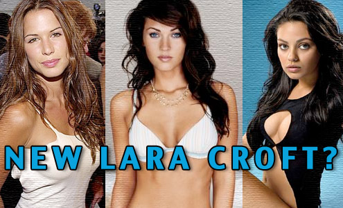 New Lara Croft Tomb Raider Actress