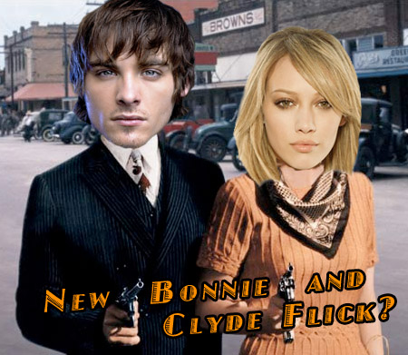 Hilary Duff in new Bonnie and Clyde Movie