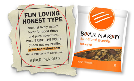 free sample bear naked