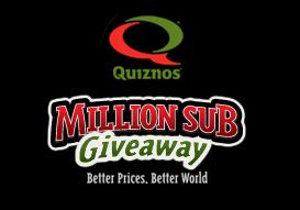 Get a free Quiznos Sub, Free Sandwich