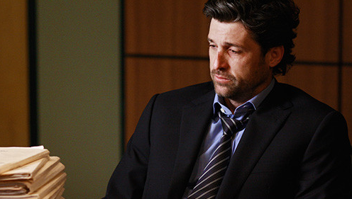 Patrick Dempsey in Grey\'s Anatomy