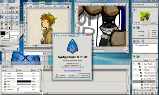 Synfig, 2d Animation Program