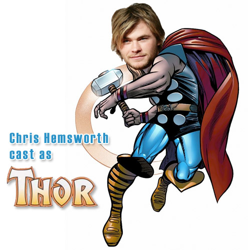 Chris Hemsworth is Thor