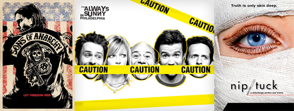 FX Shows, It's Always Sunny, Nip Tuck