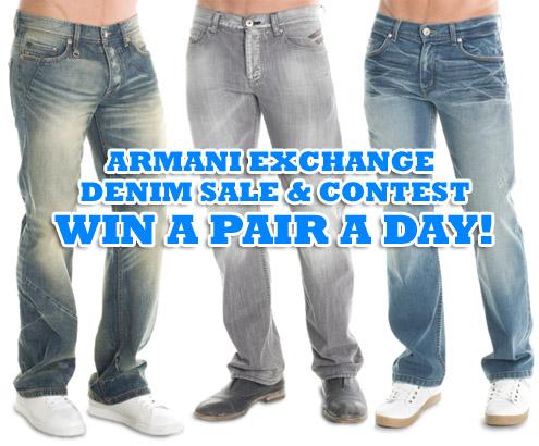 Armani Jeans Contest