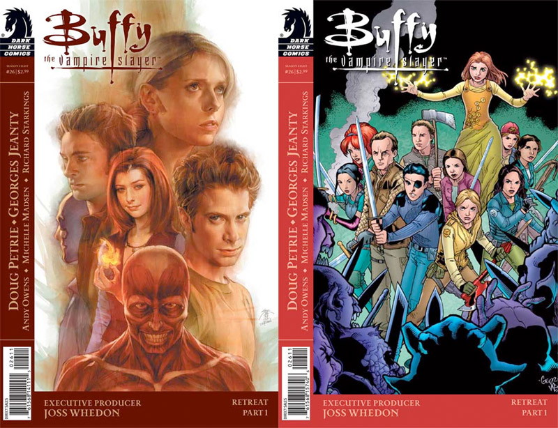 Buffy the Vampire Slayer 26 Oz is back!