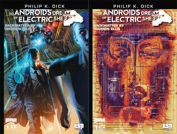 Do Androids Dream of Electric Sheep Cover Issue One