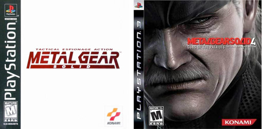 Games Through the Generations Metal Gear Solid