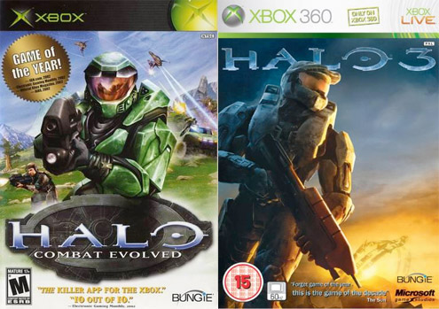 Games Through the Generations Halo