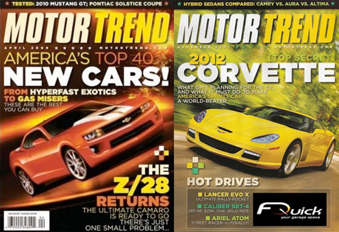 Free Motor Trend One Year Subscription