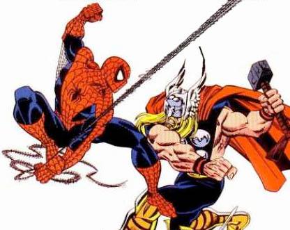 Spiderman vs Thor