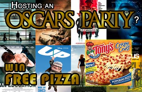 Oscar Party with Pizza