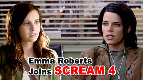 Emma Roberts Joins Scream 4