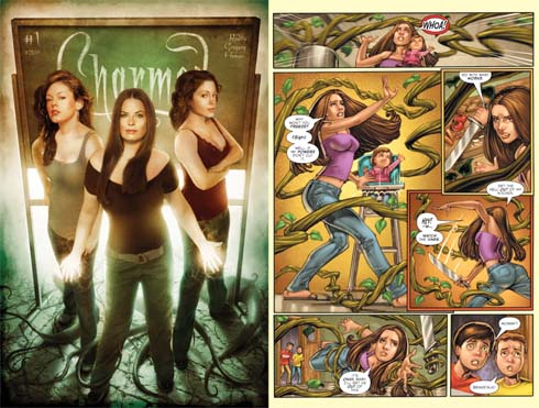 Charmed Comic Book