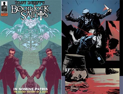 Boondock Saints Comic Book
