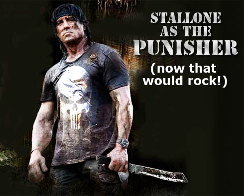 Stallone as The Punisher