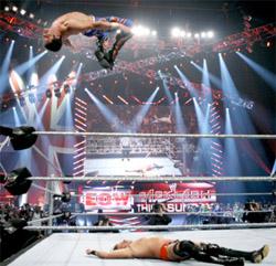 Wrestler Evan Boone