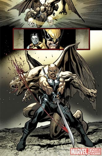 X-Men and Blade team up