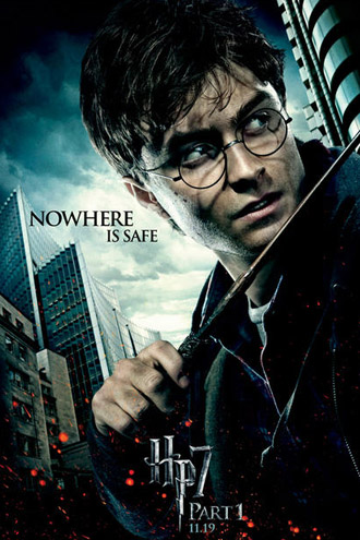 Harry Potter 7 Part 1 Movie Poster