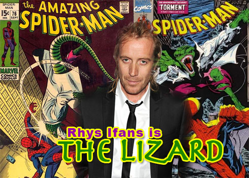 Rhys Ifans is the Lizard in Spiderman 4
