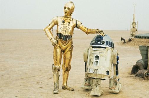 Star Wars: C-3PO,R2D2