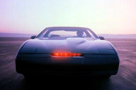 Kitt from the TV Series Knight Rider