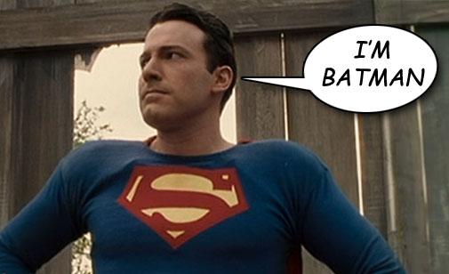 Ben Affleck as Batman - Wait a Minute