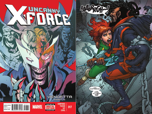 Uncanny XForce Issue 17