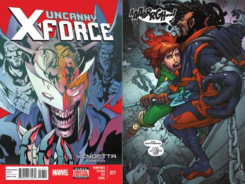 Uncanny XForce Issue 17
