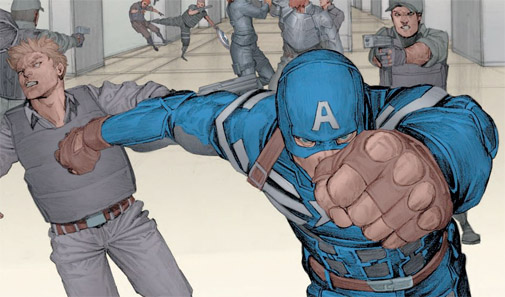Captain America, Free Comic