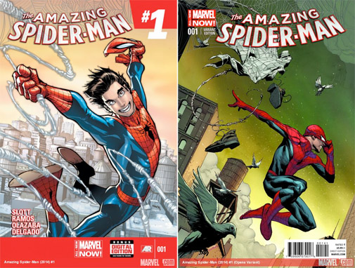 Cover The Amazing Spiderman issue 1