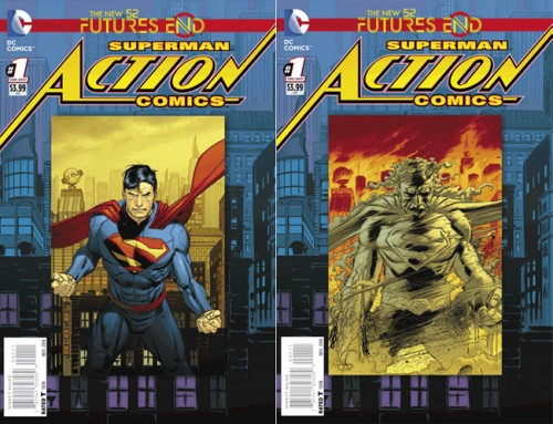 Action Comics Future End 1