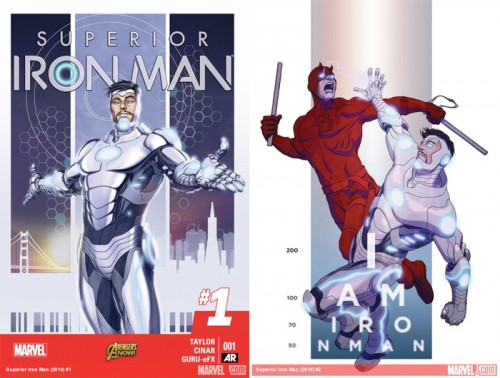Covers for Superior IronMan 1 and 2