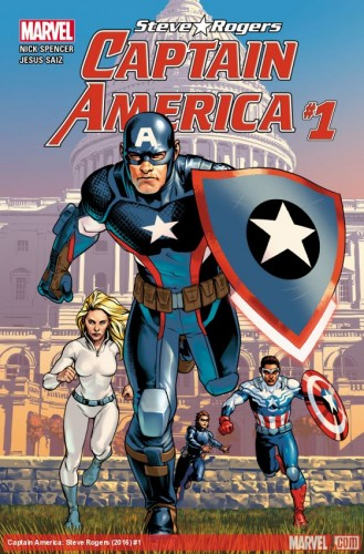 Captain America Steve Rogers Issue1