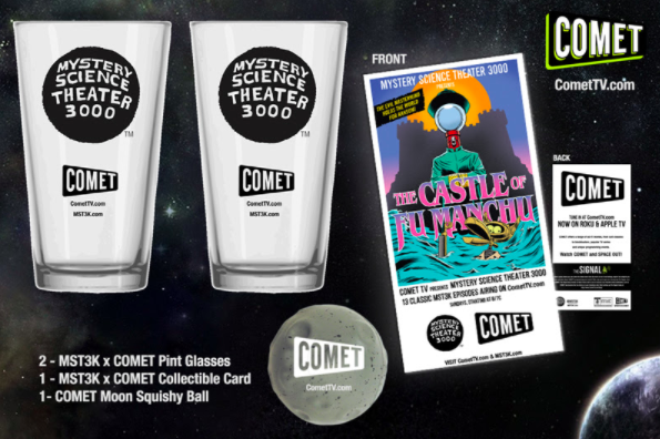 "Comet Giveaway ""Mystery Science Theater"""