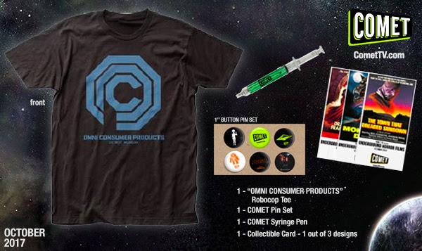 Comet October Prize Pack