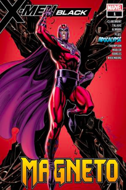 Cover: X-MEN BLACK: MAGNETO #1